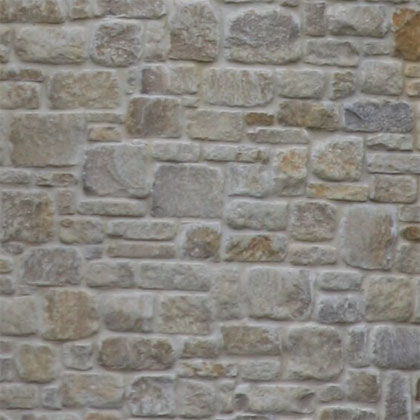 tumbled grey limestone